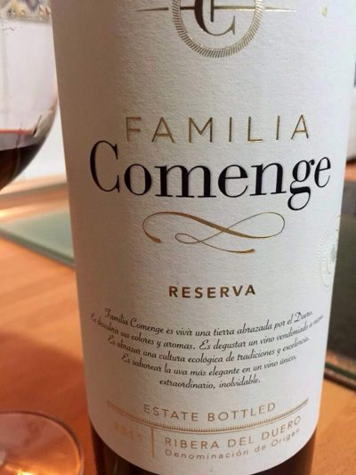 Elaboración vinos Comenge