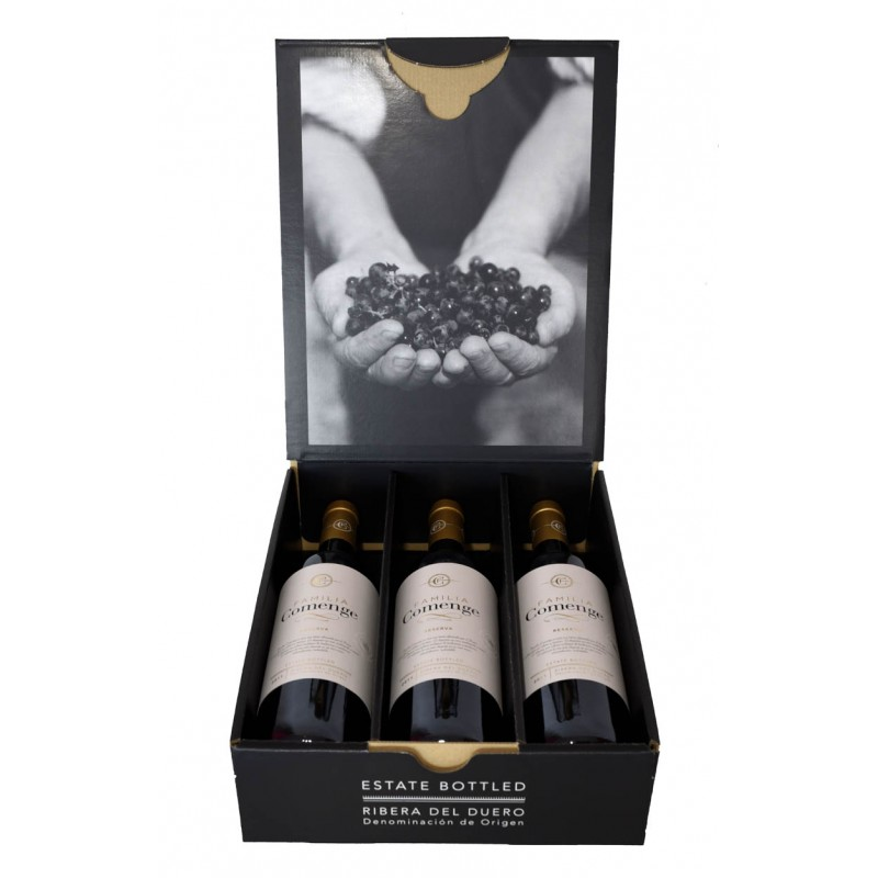 Vino Familia Comenge - Caja 3 botellas